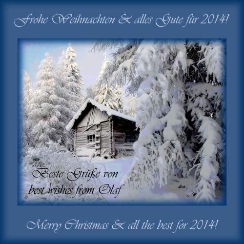 Weihnachts- & Neujahrsgrüße 2014