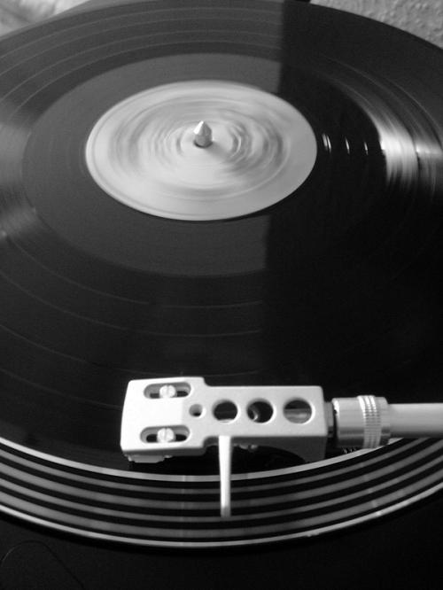 Metamatic Record B&W